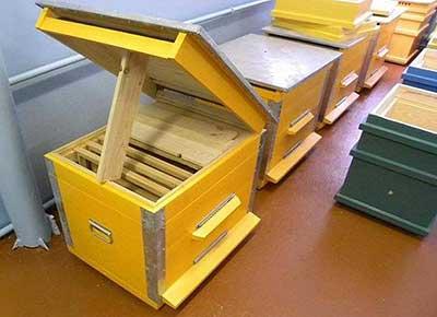 Устройство улья для пчел своими руками